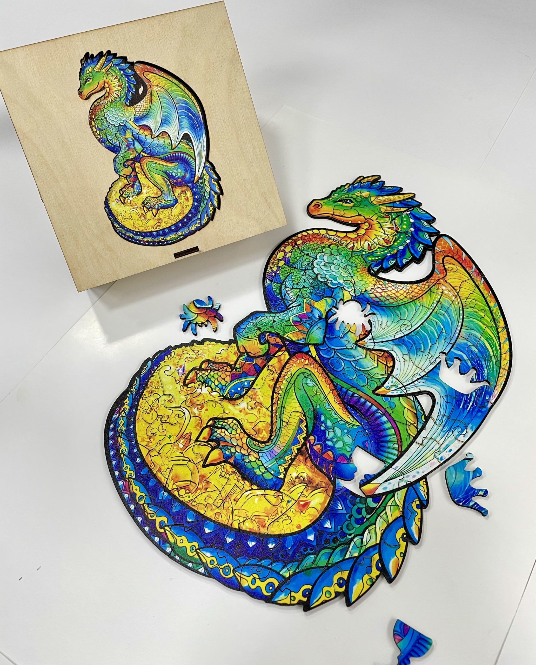 Guarding Dragon Freestyle wooden Puzzle
