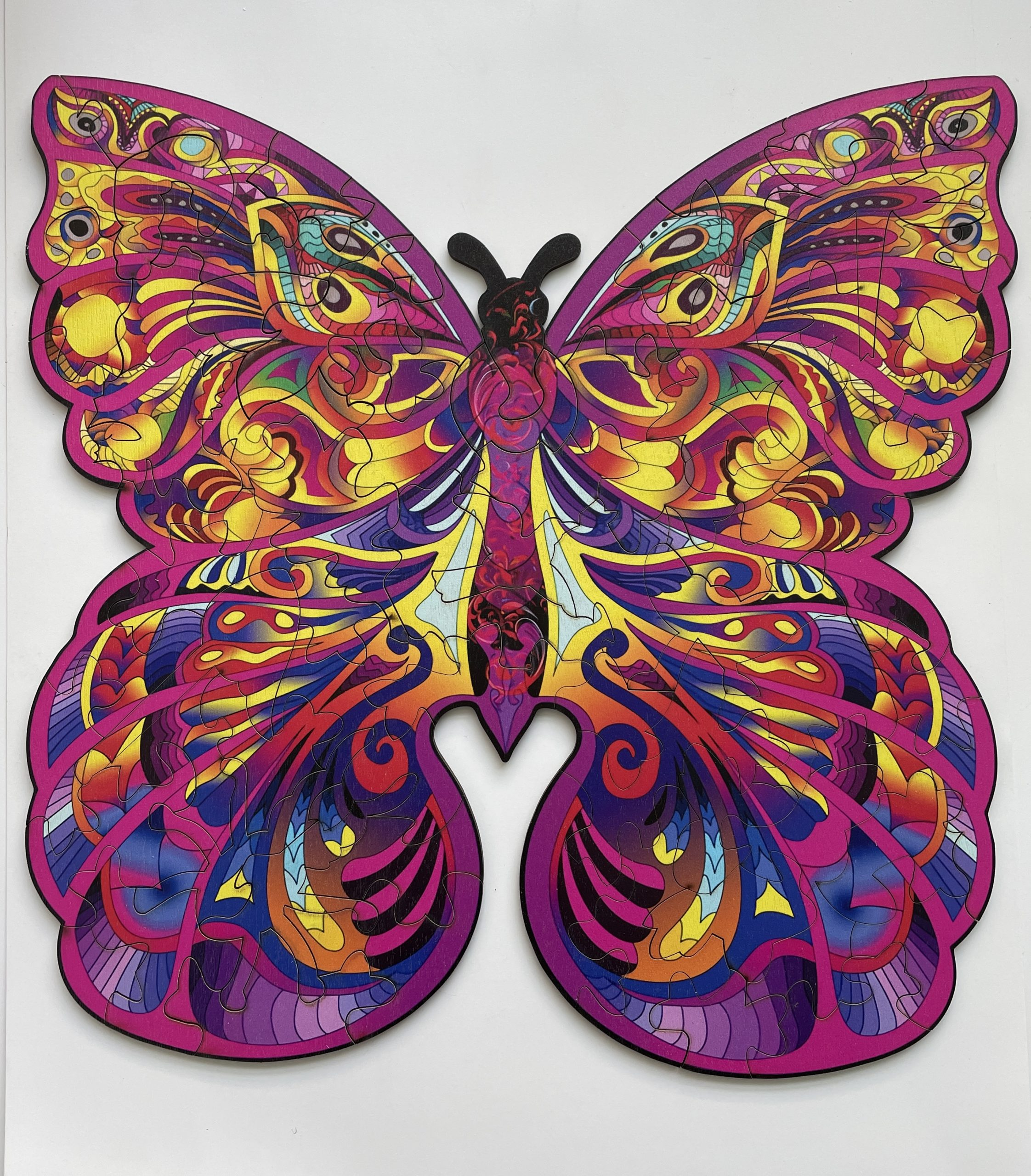 Butterfly Animal Freestyle wooden Puzzle