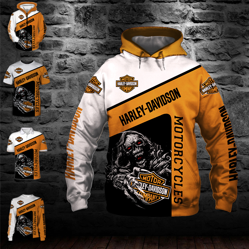 Harley-Davidson – Hoodie, Zip Hoodie, Tshirt, Long Sleeves, Polo – Best Gift